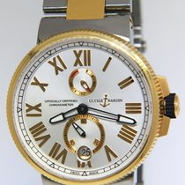 Ulysse Nardin pre-owned Automatic 45mm Silver