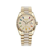 Rolex Yellow gold Automatic 36mm new Day-Date 36