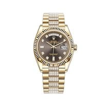 Rolex Day-Date 36 Yellow gold 36mm Grey United States of America, New York, New York