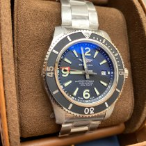 Breitling Superocean 44 Steel 44mm Black Arabic numerals