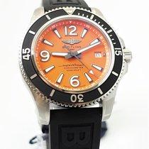 Breitling Superocean II 42 Steel 42mm Orange Arabic numerals