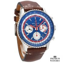 Breitling Navitimer 1 B01 Chronograph 43 Steel 43,00mm Blue No numerals United Kingdom, or EU warehouse (see description)