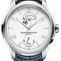 Baume & Mercier Clifton Steel 43mm White Arabic numerals