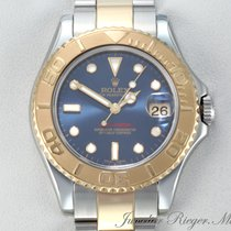 Rolex Yacht-Master Gold/Steel 35mm Blue No numerals