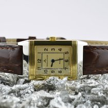 Jaeger-LeCoultre Reverso Lady Goud/Staal 19mm Wit Arabisch Nederland, Goor