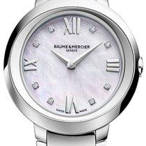 Baume & Mercier Promesse Steel 30mm Mother of pearl Roman numerals