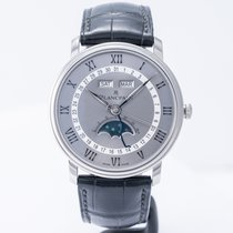 Blancpain Villeret Quantième Complet new 2020 Automatic Watch with original box and original papers 6654-1113-55B