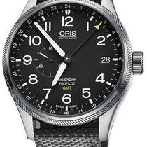 Oris Big Crown ProPilot GMT Acier 45mm Noir