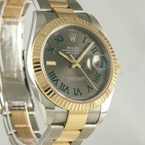 Rolex Datejust II Gold/Stahl 41mm Grau Römisch Deutschland, Heilbronn