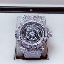 Hublot Белое золото Автоподзавод Белый Без цифр 45mm новые Big Bang Unico