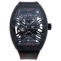 Franck Muller Carbon Manual winding 45mm new Vanguard