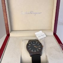 Salvatore Ferragamo Ceramic 41mm Quartz FQ101 new