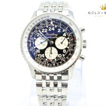 Breitling Navitimer Cosmonaute pre-owned 41mm Black Chronograph Steel