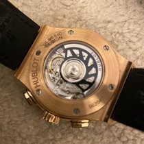 Hublot Rose gold Automatic Silver 42mm pre-owned Classic Fusion Chronograph