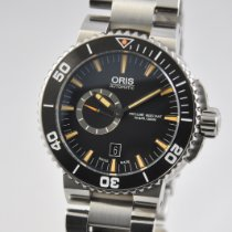 Oris Aquis Small Second Steel 46mm Black No numerals United States of America, Ohio, Mason
