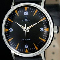Omega De Ville Steel 32mm Black Arabic numerals United States of America, Utah, Draper