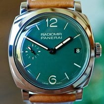 Panerai Radiomir 1940 3 Days Automatic pre-owned 47mm Green
