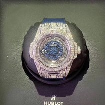 Hublot White gold Automatic Blue No numerals 45mm new Big Bang Unico