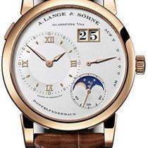 A. Lange & Söhne Lange 1 Or rose 38.5mm Blanc