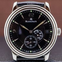 Blancpain Villeret Ultra-Slim pre-owned 36mm Date Leather
