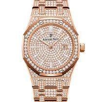 Audemars Piguet Royal Oak Lady 67652OR.ZZ.1265OR.01 New Rose gold 33mm Quartz