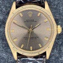 Rolex Oyster Perpetual 34 Gelbgold 34mm Braun Deutschland, Mülheim an der Ruhr