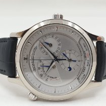Jaeger-LeCoultre Master Geographic Weißgold 38mm Silber