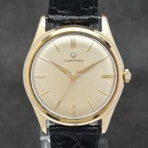 Certina Acero y oro 34mm Cuerda manual 41522-6 usados