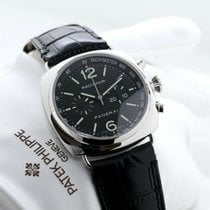 Panerai Radiomir Chronograph pre-owned 42mm Black Date Leather
