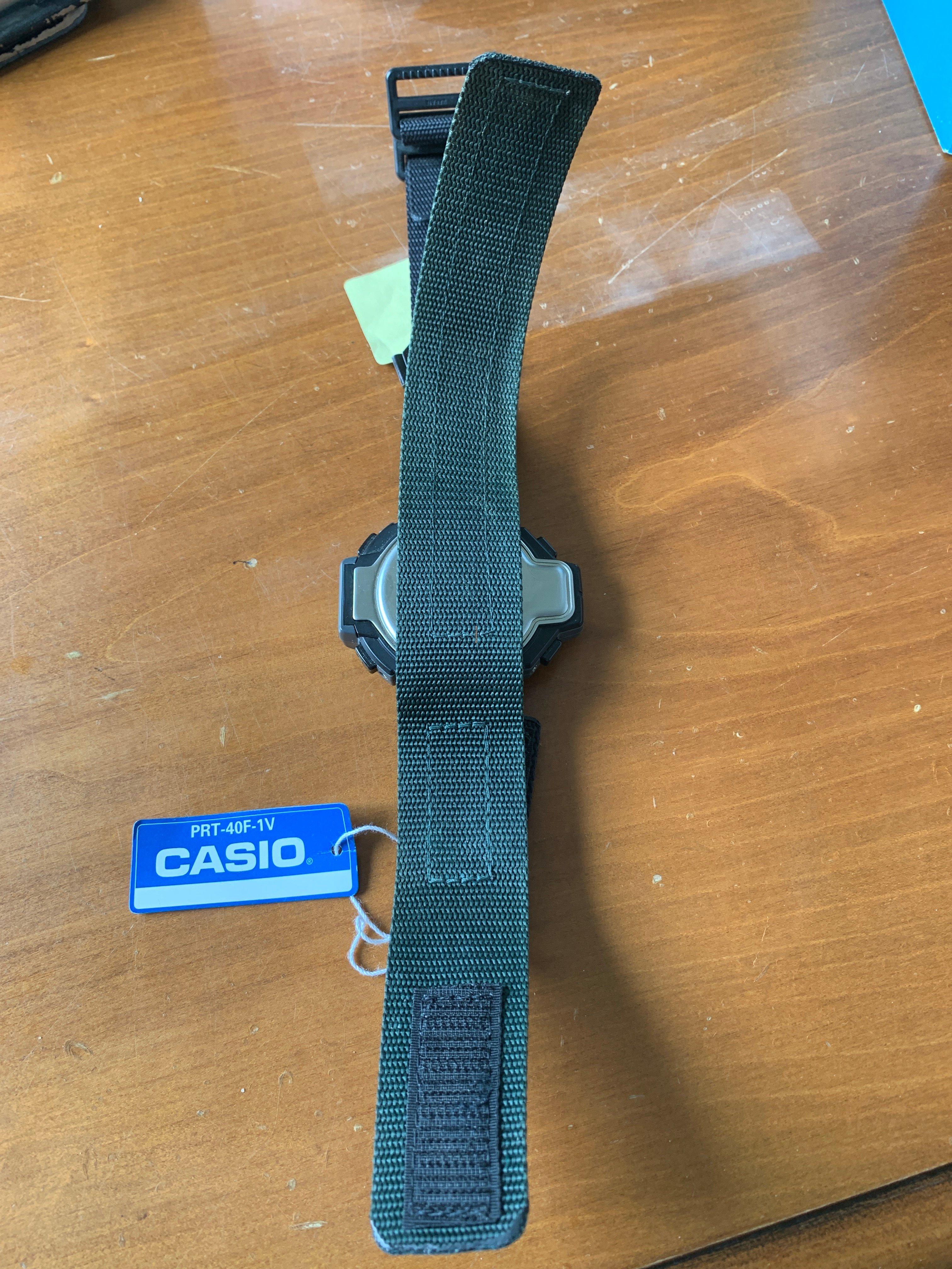 Casio prt 40F 1V Pro Trak à vendre pour 180 € par un Vendeur  Dp6qd