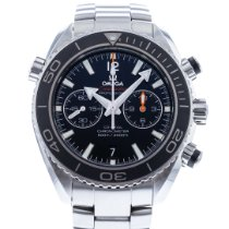 Omega Seamaster Planet Ocean Chronograph occasion 45.5mm Noir Date Acier