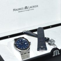 Maurice Lacroix AIKON Stahl 42mm Blau Keine Ziffern