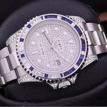 Rolex new Automatic Gemstones and/or diamonds 40mm Steel Sapphire crystal