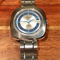 Longines Admiral Steel 41mm Silver No numerals United States of America, California, Rancho Mirage