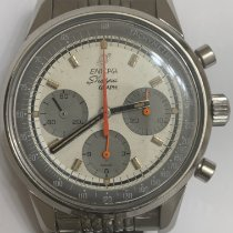 Enicar Steel 40mm Manual winding 072-02-01 pre-owned United States of America, New Jersey, Orange