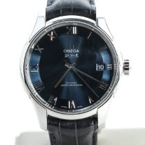 Omega De Ville Co-Axial Steel 41mm Blue Roman numerals