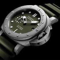 Panerai Special Editions Aço 42mm Verde
