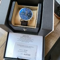 IWC Portuguese Chronograph Steel 41mm Blue Arabic numerals United States of America, California, Sunnyvale