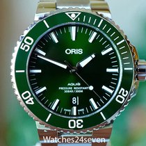 Oris Aquis Date 24mm Green United States of America, Missouri, Chesterfield