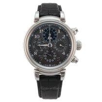 IWC Da Vinci Perpetual Calendar ny 2021 Automatisk Kronograf Klocka med originallåda och originalhandlingar IW392103