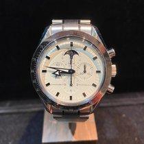 Omega Speedmaster Professional Moonwatch Moonphase Acero 41mm Blanco