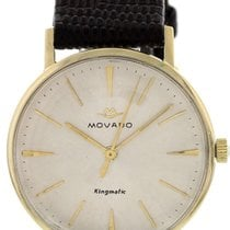 Movado Kingmatic Or jaune 33mm