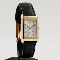 Jaeger-LeCoultre Reverso (submodel) Ouro rosa 26mm Branco Árabes