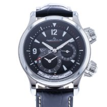 Jaeger-LeCoultre Master Compressor Geographic Steel 41.5mm Black United States of America, Georgia, Atlanta