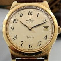 Omega Genève Goud/Staal 37mm Goud Arabisch