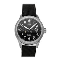 Oris Big Crown ProPilot Worldtimer Acero 44.7mm Negro Arábigos