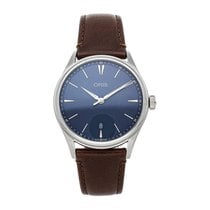Oris Artelier Date Steel 40mm Blue No numerals United States of America, Pennsylvania, Bala Cynwyd