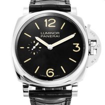 Panerai Luminor Due PAM 00676 Zeer goed Staal 42mm Handopwind