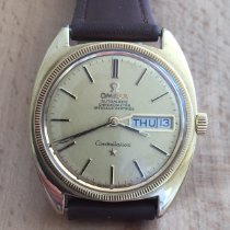 Omega Constellation Day-Date Gold/Steel 34.0mm Gold No numerals United Kingdom, North Ayrshire