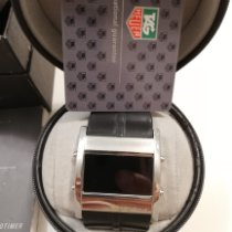 TAG Heuer Microtimer Staal Zwart Romeins